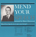 View Mend your speech [sound recording] / narrated by Harry Fleetwood digital asset number 0
