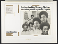 View Letter to young sisters and other poems [sound recording] / by Nancy Dupree digital asset number 2
