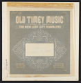 View Old Timey Music [sound recording] digital asset number 0