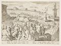 View Whale Hunt by the Emperor Claudius in the harbour at Ostia, pl. 19 in the Venationes Ferarum, Avium, Piscium series digital asset number 2
