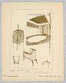View Gazette du Bon Ton, Vol. 2, No. 9, pages de Croquis, Plate 43 digital asset number 0