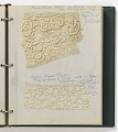View Notebook of lace samples digital asset number 0