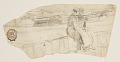 View Two Women Seated on a Sea Wall, Cullercoats, England digital asset number 0
