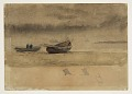 View Stern View of Two Rowboats, England digital asset number 0