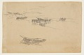 View Sketches of Dories on Carriages digital asset number 0