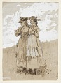 View Two Young Girls digital asset number 0