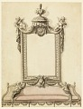 View Design for Sofa and Mirror, Portrait Room, Royal Palace; Warsaw, Poland digital asset number 0