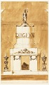 View Funeral Decorations for King Louis XVI of France digital asset number 0