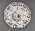 View Dinner Plate with the Arms of Ker-Martin digital asset number 3