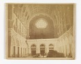 View View of the Interior of the Church of St. John the Baptist, Brooklyn, Looking West Toward the Rose Window digital asset number 0