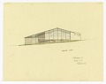 View North Elevation of a Split-Level House to be Erected in Palo Alto, California digital asset number 0