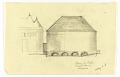 View Elevation of the Exterior of a Proposed Chapel for Trinity Church, Boston, Masssachusetts digital asset number 0