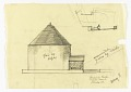 View End Elevation of Exterior of a Proposed Chapel for Trinity Church, Boston, Massachusetts digital asset number 0