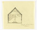 View Cross-Section of a Proposed Chapel for Trinity Church, Boston, Massachusetts digital asset number 0