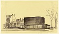 View Proposed Design for the First Lutheran Church, Boston, Massachusetts digital asset number 0