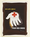 """View Design for """"His Life-Line Is Your Red Cross"""" digital asset number 0"""