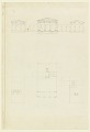 View Elevation and Plan of a Country House digital asset number 0