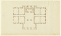 View Plan of the Ground Floor of a Country House digital asset number 0