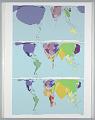 View Worldmapper Project: Global Internet Use 1990 and 2007 digital asset number 1