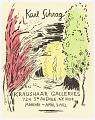 View Karl Schrag, Kraushaar Galleries, NYC digital asset number 0