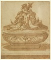 View Recto: Fountain Design with Oceanus and the River Gods Arno and Tiber digital asset number 0
