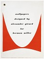 View Wallpapers Designed by Alexander Girard for Herman Miller digital asset number 30