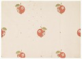 View Red Cherries and White Stars on Pink Ground, Wallpaper Design digital asset number 0