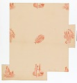 View Still Life Motifs on Pink Ground, Wallpaper Design digital asset number 0