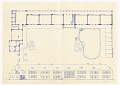 View Volksschule Stockerau (Stockerau Primary School - Floor Plan, Garden, and Front Façade Elevation) digital asset number 0