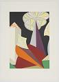 """View Fuochi D'Artificio (particolare) (Fireworks, Detail), Progetti scenici per """"sintesi futuriste"""" 1915/1925 (Set Designs for Futurist Syntheses 1915/1925) digital asset number 0"""
