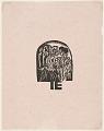 View Katalog der Ausstellung von Kleidern aus der Stickstube von Frau Eucken, Bremen... [Catalogue for Exhibition of Clothing from Mrs. Eucken's Embroidery Studio, Bremen] digital asset number 0