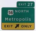 View Metropolis, in ClearviewHwy® Typeface digital asset number 0