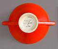 View Sugar Bowl from the Streamline Series, Mandarin Glaze digital asset number 3