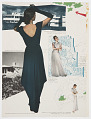 View Women in Coats, Airplane, and Arrows, Page from Vogue digital asset number 1