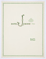 View Design for Hotel Jerome Grill Luncheon and Dinner Menu, Aspen, CO digital asset number 0