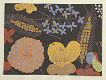 View Textile Design: Juniblumen (June Flowers) digital asset number 2