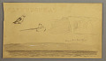 View Sketches from Labrador of Snow on Land, Man in Boat, and Bird digital asset number 1