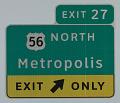 View Metropolis, in ClearviewHwy® Typeface digital asset number 1