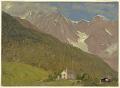 View An Alpine Landscape in Switzerland digital asset number 0