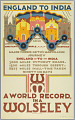 View England to India, a World Record in a Wolseley digital asset number 1