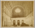 View View of the Interior of the Church of St. John the Baptist, Brooklyn, Looking West Toward the Rose Window digital asset number 1