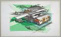 View Design for Prefabricated Hospital, Exterior Perspective digital asset number 1