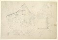 View Sketch of a Barn and Haystack digital asset number 2