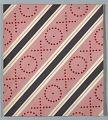 View Diagonal Stripe in Pink and Gray, Wallpaper Design digital asset number 1