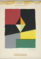 View Design for a Magazine Cover with Geometric Abstraction digital asset number 1