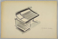 View Design for Desk with Tambour Cover digital asset number 1