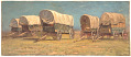 View Study, Covered Wagons digital asset number 0