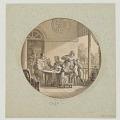 View Design for a Painted Porcelain Plate, Café (Coffee) from the Service des Objets de Dessert (Dessert Service) digital asset number 1