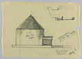 View End Elevation of Exterior of a Proposed Chapel for Trinity Church, Boston, Massachusetts digital asset number 1