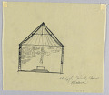 View Cross-Section of a Proposed Chapel for Trinity Church, Boston, Massachusetts digital asset number 1